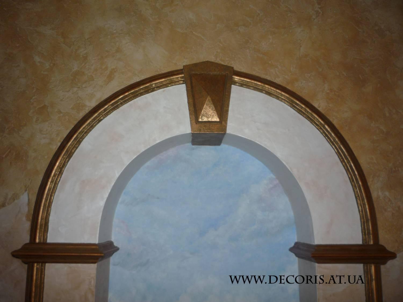 Декор для арки своими руками фото
